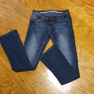 Rue 21 women's jeans size 3/4 slim boot